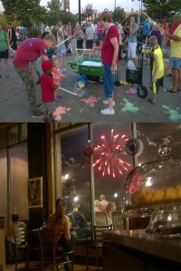 Arts and Fireworks