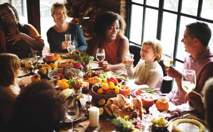 Thanksgiving Multiracial